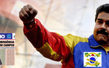 Venezuelan President Nicolas Maduro raises his fist during a May Day rally in Caracas on May 1, 2014. AFP PHOTO/FEDERICO PARRA        (Photo credit should read FEDERICO PARRA/AFP/Getty Images)