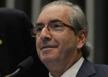 Brasília- DF- Brasil- 25/02/2015- Presidente da Câmara dos Deputados, Eduardo Cunha, preside sessão de votação da Casa (Fabio Rodrigues Pozzebom/Agência Brasil)
