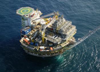 Produção de petróleo em alto mar