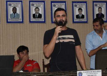 Presidente da Câmara de Vereadores de Italva (RJ)   Foto: Reprodução