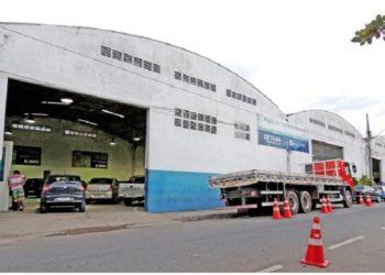 Posto de Vistoria do Detran-RJ em Macaé (RJ) | Foto: Reprodução