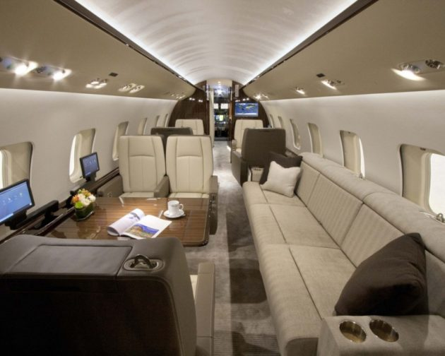Jatinho executivo da Bombardier