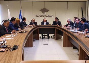 Reunião da bancada do PSD