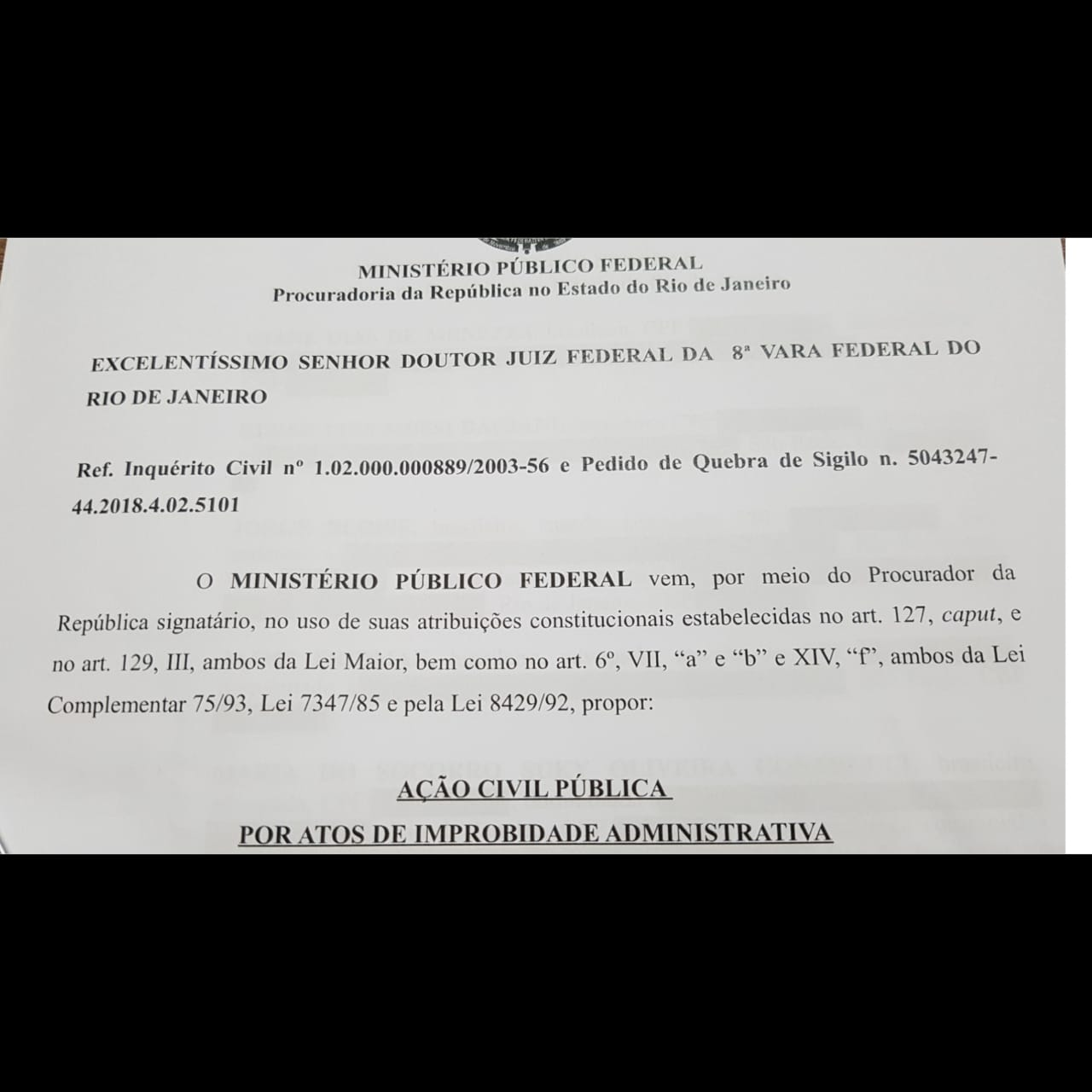 Doc: Procuradoria Geral da República
