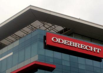 Fachada da sede da empresa Odebrecht