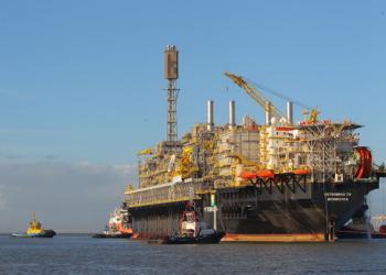 Plataforma de Petróleo na Camada do pré-sal