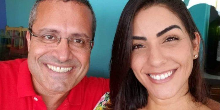 Ex-prefeito de Casimiro, Antônio Marcos e a esposa Ana Débora