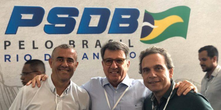 Guto Garcia, Paulo Marinho e Dr. Aluizio