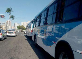 ônibus da empresa Rogil, em Campos-RJ