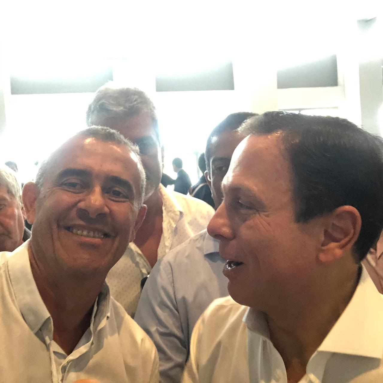 Guto Garcia e João Dória