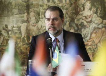 Presidente do STF Dias Toffoli