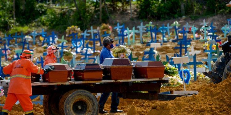 Mortes por Covid-19 em Manaus (AM)