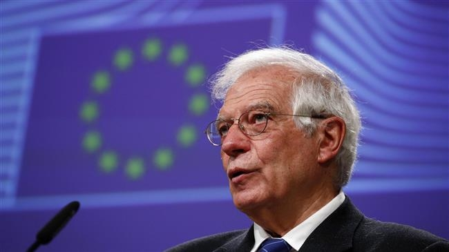 O chefe de política externa da UE, Josep Borrell