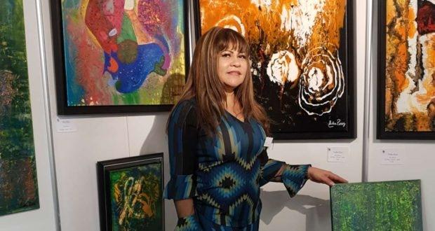 Artista plástica Leda Risse