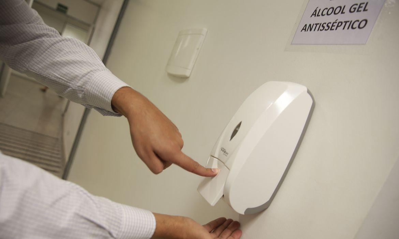 álcool - higienização