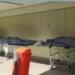 Corpos em macas do Hospital Lourenço Jorge, no RJ