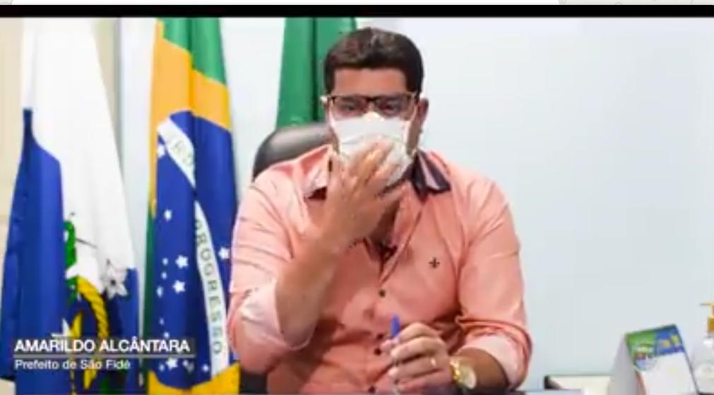 Prefeito de São Fidélis-RJ - Amarildo Alcântara