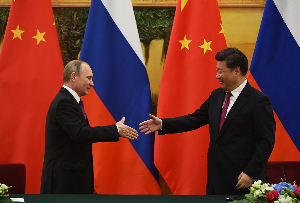 comercio entre China e Russia