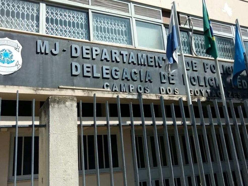 Delegacia da Polícia Federal em Campos-RJ