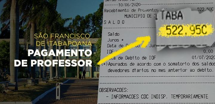 Salário de Professores em São Francisco-RJ