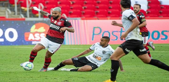 Gabigol na estreia do Flamengo no Brasileirão