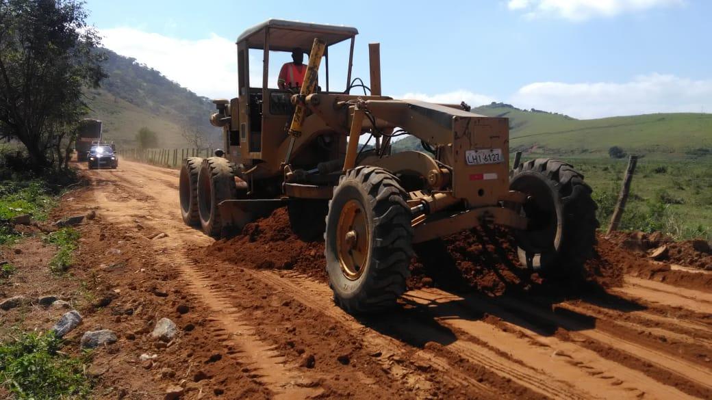 Recuperação de rodovia no Imbé - Campos-RJ