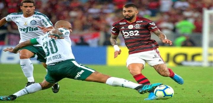 Flamengo x Palmeiras é suspenso