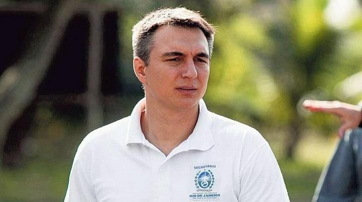 Secretario de Educação Pedro Fernandes