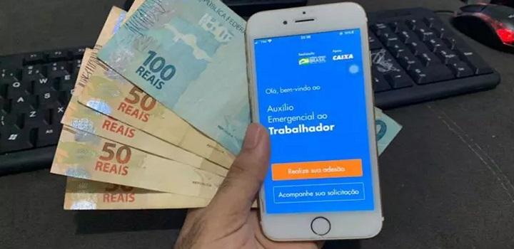 Inicia pagamento do auxílio R$ 300