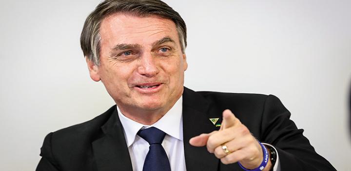 Governo Bolsonaro em alta