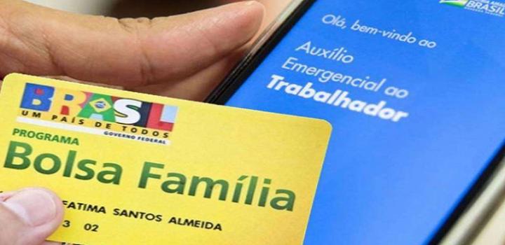 Bolsa Família Auxilio Emergencial