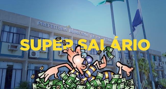 Super salários em São Francisco de Itabapoana