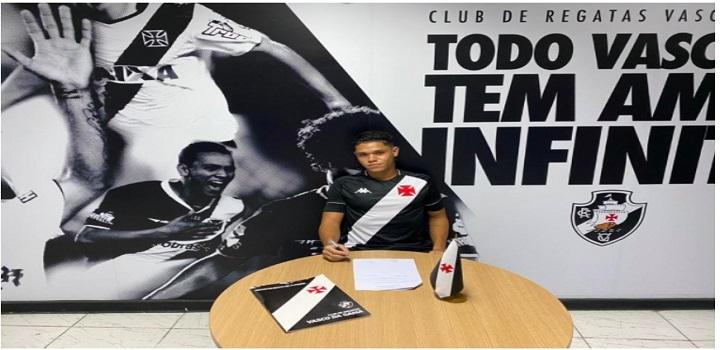 Lucas Chagas assina com o Vasco