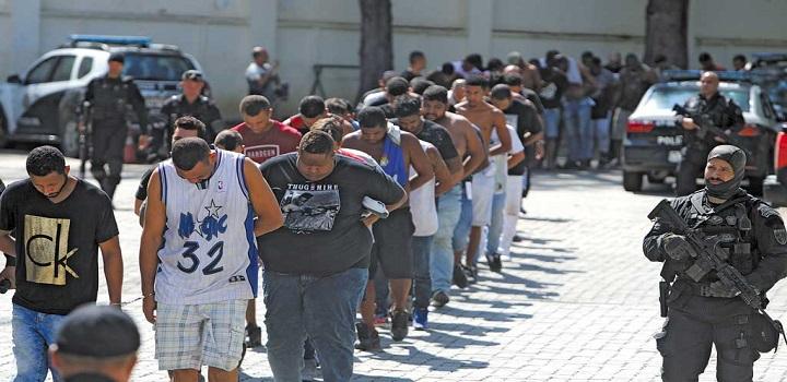 Milícias dominam territorio do RJ