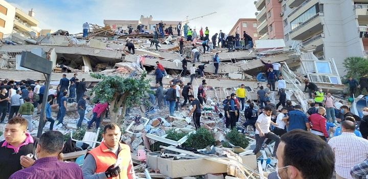 Terremoto no mar Egeu