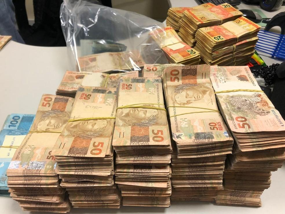 Ceará - prisão de dinheiro