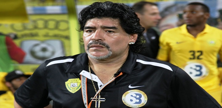 Maradona é internado em La Plata