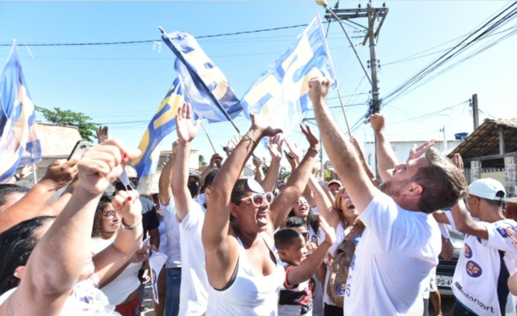 Vitória de Wladimir em Campos-RJ