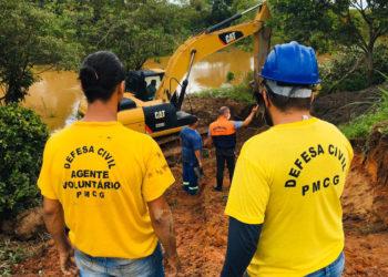 Equipe da Defesa Civil de Campos-RJ