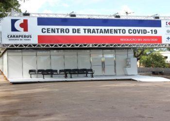 Prefeitura de Carapebus pagou R$ 1.352.698,00 pela montagem e manutenção do hospital de campanha pelo prazo de três meses