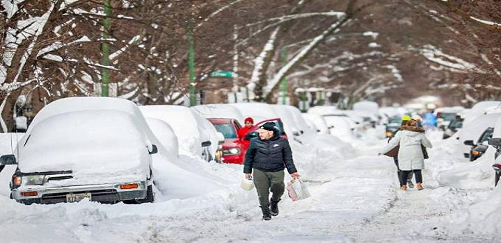 Milhões de pessoas ficaram sem energia elétrica no Texas após tempestades de neve atingirem o Estado