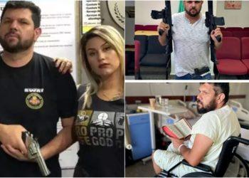 Sara Winter arrependida e Oswaldo Eustáquio com risco de ficar paraplégico (Foto: Divulgação)
