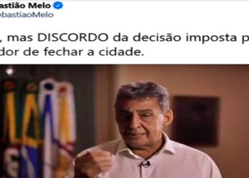 prefeito Sebastião de Araújo Melo (MDB-RS),