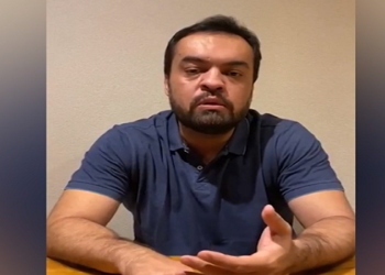 Governador Cláudio Castro se desculpa por festa de aniversário