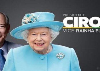 Ciro Gomes Rainha Elizabeth