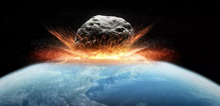 Asteroide colisão com a Terra