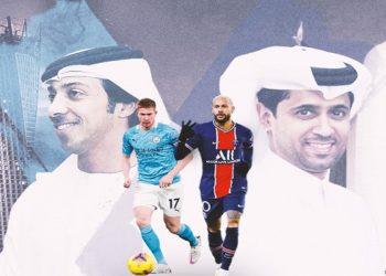 Título da Champions é o sonho dos clubes alavancados por projetos bilionários de duas nações rivais: