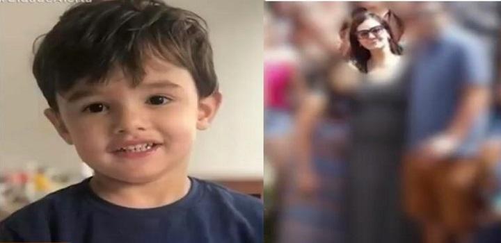 Gael, de 3 anos, teve traumatismo em polo cefálico, hematoma em região cervical bilateral e petéquias na face, coração, pulmão e em mucosa oral interna.
