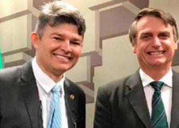 José Medeiros e Bolsonaro