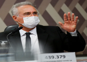 Renan Calheiros cita nazistas na CPI da Covid